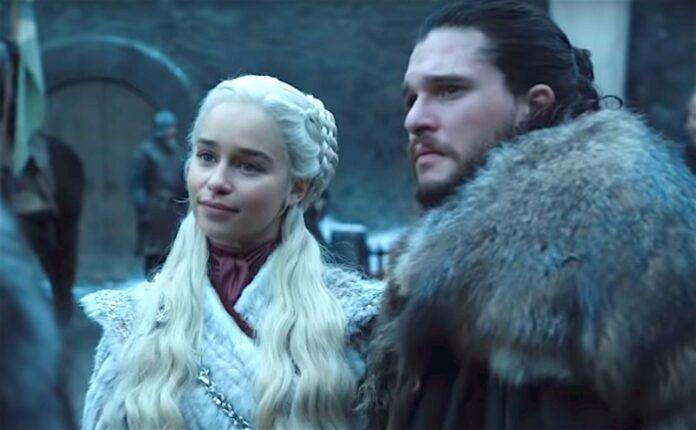 Game of Thrones -Emilia Clarke e Kit Harington