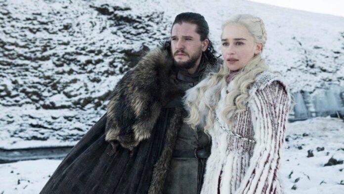 Game of Thrones - stagione 8 Kit Harington e Emilia Clarke