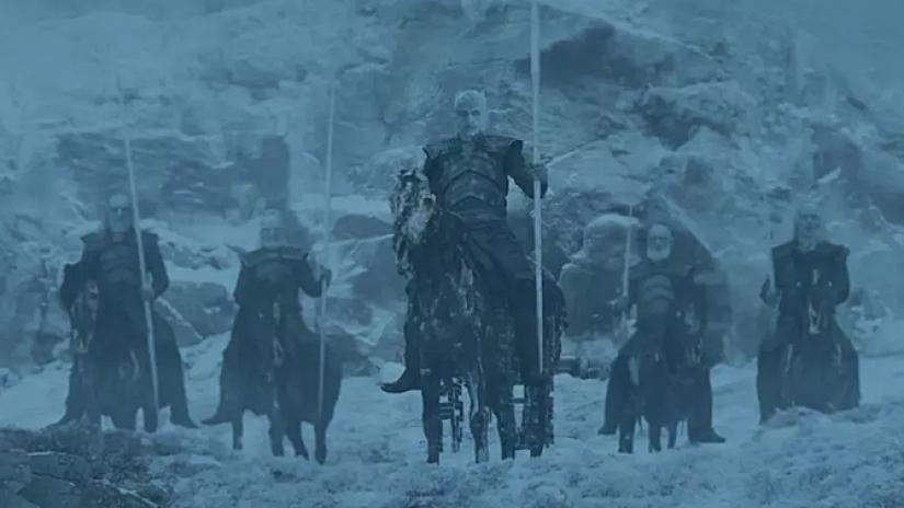 Game of Thrones - stagione 8 White Walkers