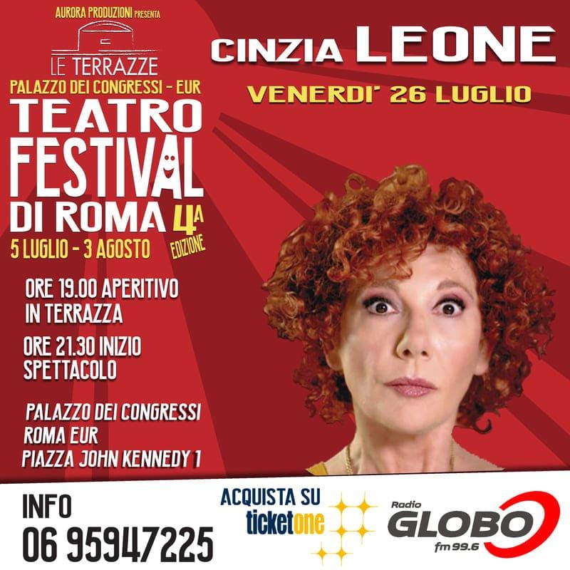 Le Terrazze Teatro Festival - Cinzia Leone locandina