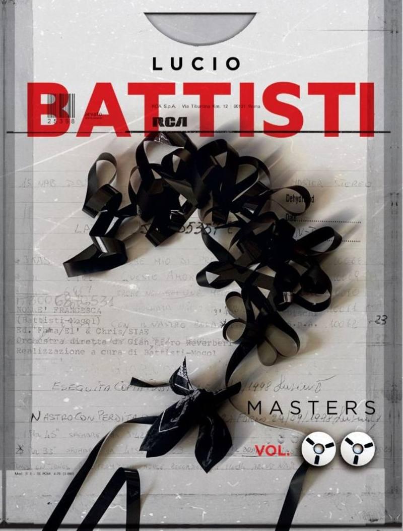 Lucio Battisti - Masters vol.2 cover