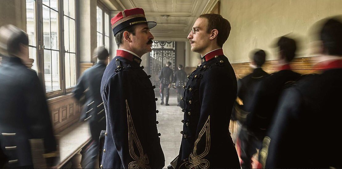 L'ufficiale e la spia - Jean Dujardin and Louis Garrel