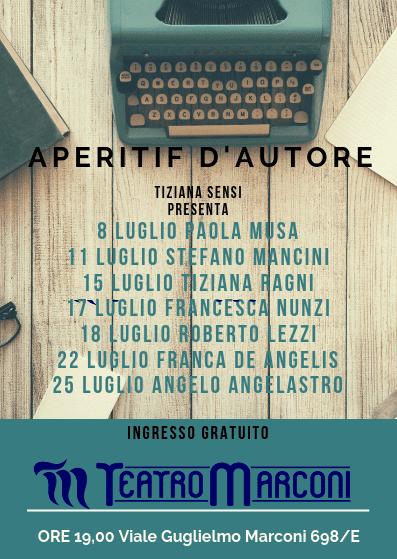 Marconi Teatro Festival - Aperitif d'autore