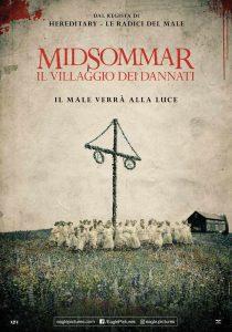 Midsommar - Il villaggio dei dannati - locandina