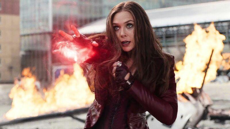 Scarlet Witch - Elizabeth Olsen