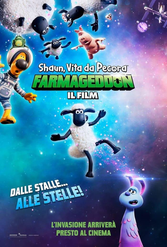 Shaun, Vita da Pecora - Farmageddon - Il Film - Primo Poster Ufficiale Italiano