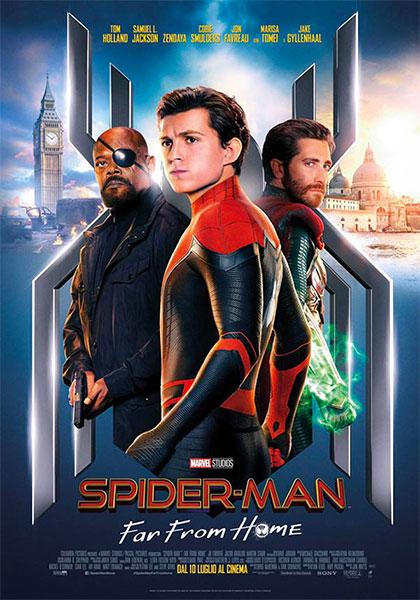 Spider-Man: Far From Home - locandina