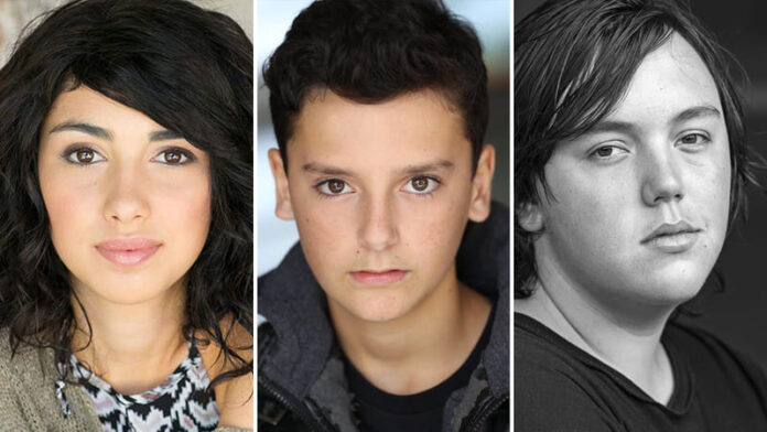 The Walking Dead nuova serie - Alexa Mansour, Nicolas Cantu, Hal Cumpston
