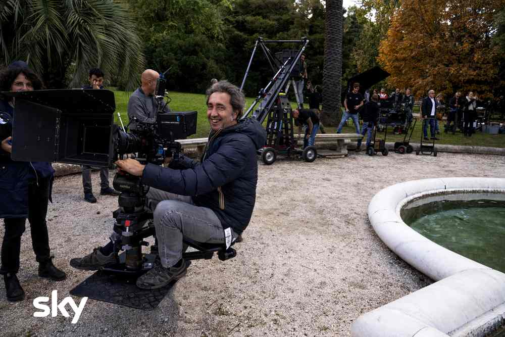 The Young Pope 2 - Paolo Sorrentino sul set (foto Gianni Fiorito)