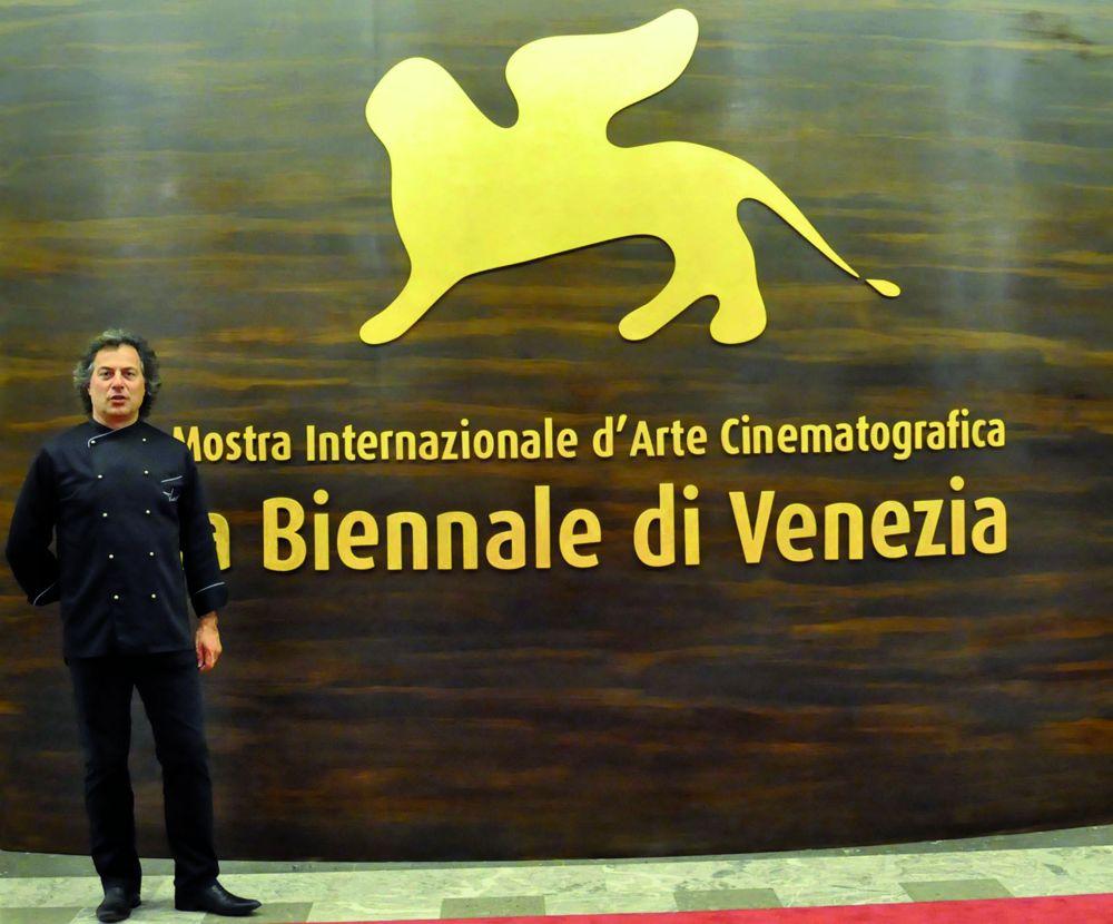 Tino Vettorello alla Mostra del Cinema di Venezia