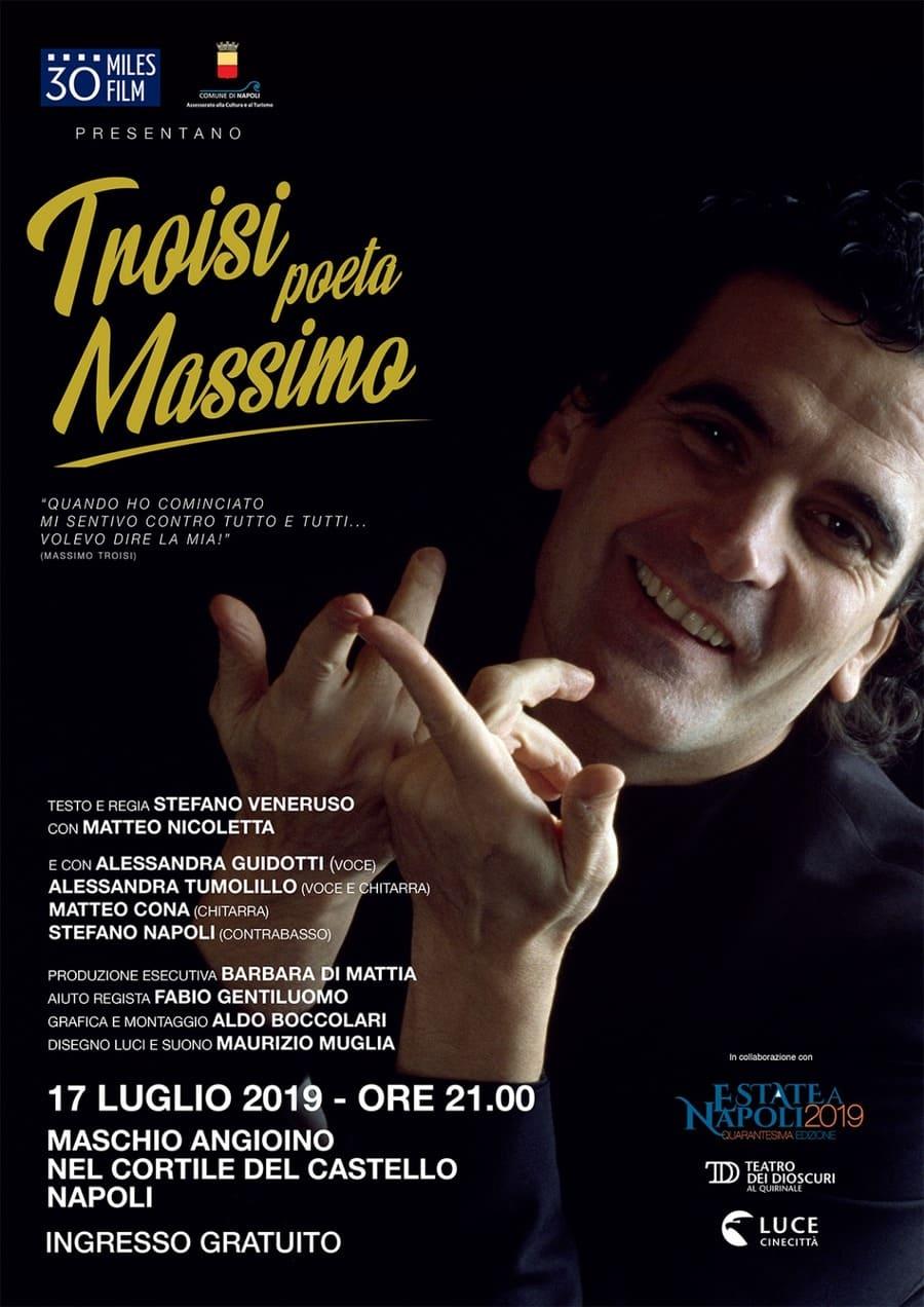 Troisi poeta Massimo - locandina