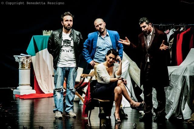 Atti O Scene in Luogo Pubblico - La storia d'Itaglia cast