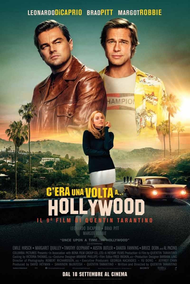 C'era una volta... a Hollywood - Final Poster