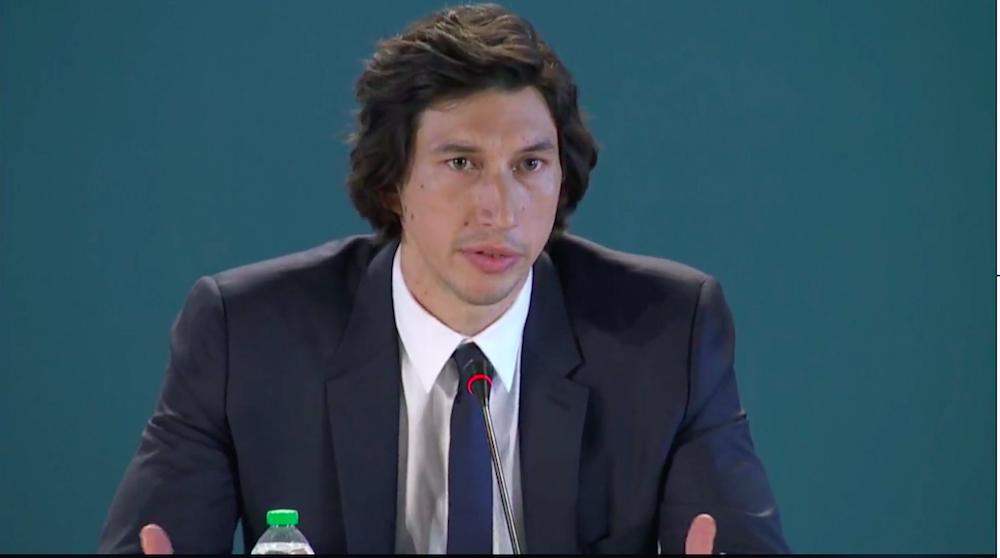 Conferenza stama Marriage Story - Adam Driver