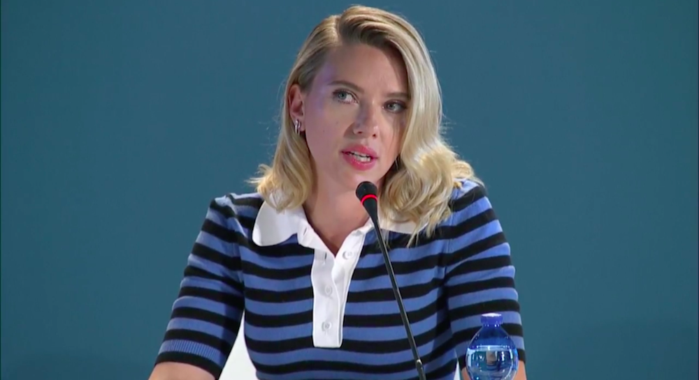 Conferenza stampa Marriage Story - Scarlett Joahnsson 2