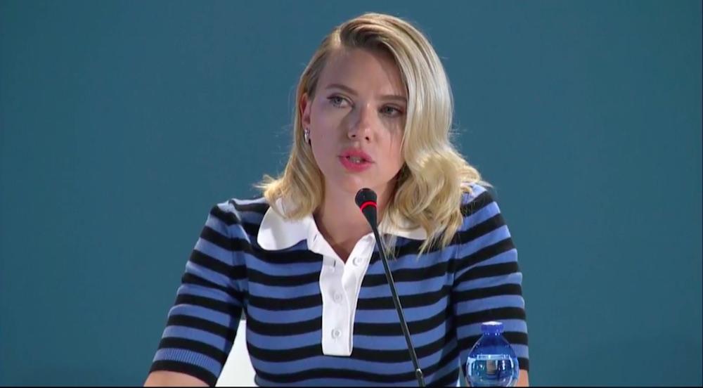 Conferenza stampa Marriage Story - Scarlett Johansson