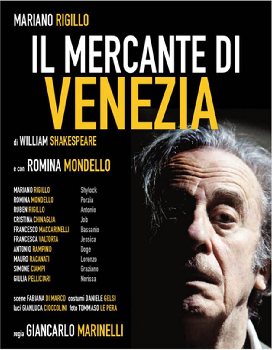 Il Mercante di Venezia - locandina