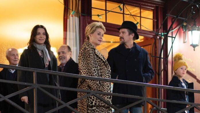 Le verità - Juliette Binoche, Catherine Deneuve e Ethan Hawke