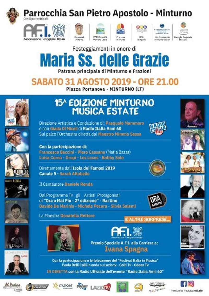 Minturno Musica Estate 2019