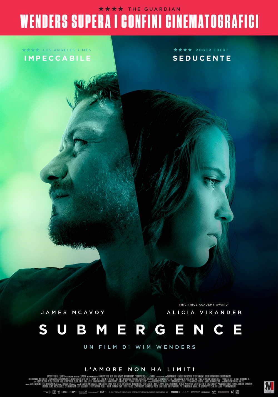 Submergence - poster