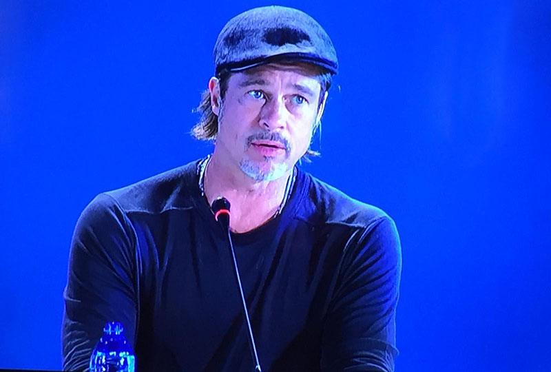 Venezia 76: Brad Pitt protagonista indiscusso della conferenza stampa di Ad Astra