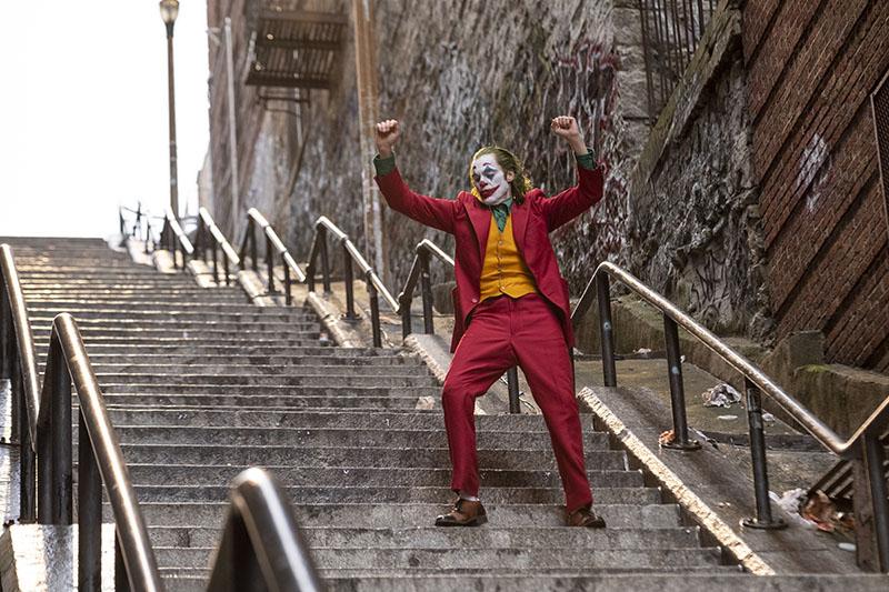 Venezia 76: Joaquin Phoenix, il suo è un Joker che balla