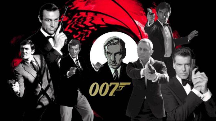 007 James Bond collage