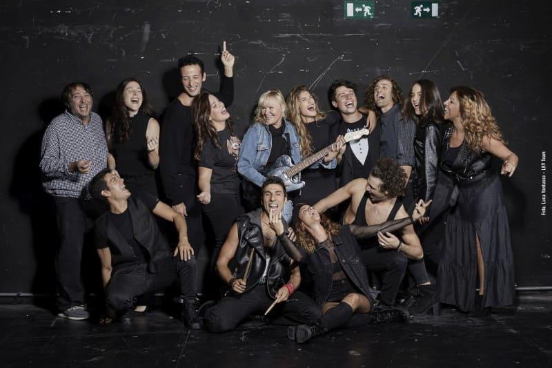 Balliamo sul mondo - cast con Chiara Noschese