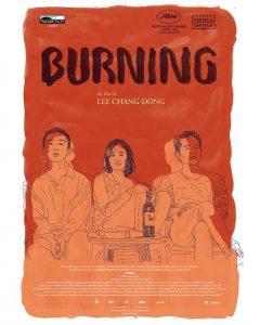 Burning - L'amore brucia - locandina