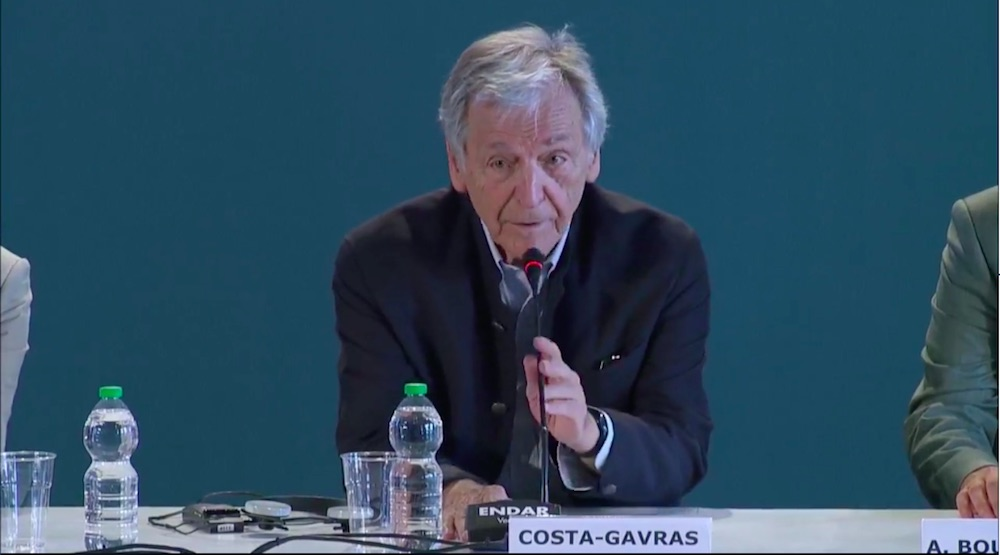 Conferenza stampa Adults in the Room - Costa-Gavras