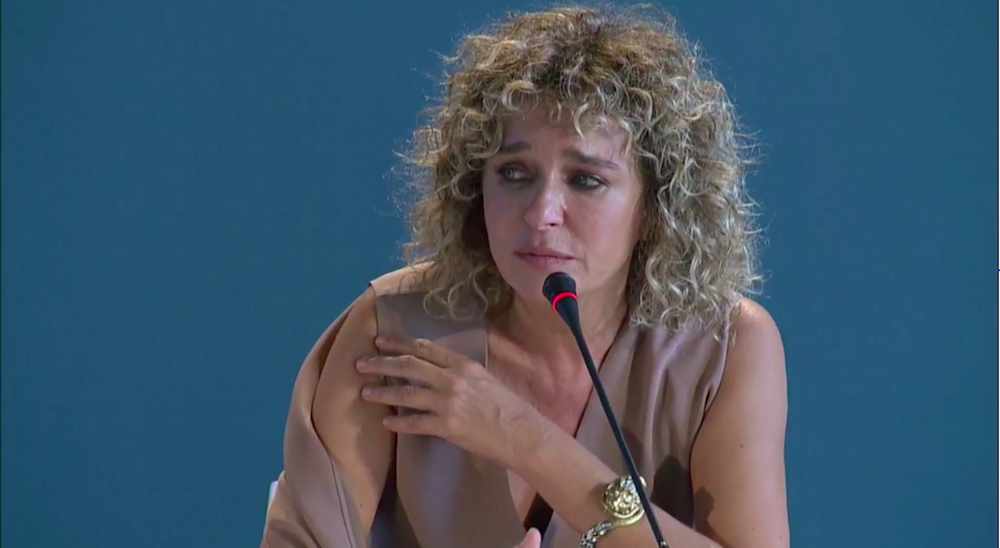 Conferenza stampa Adults in the Room - Valeria Golino
