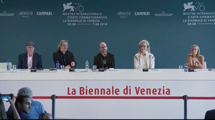 Conferenza stampa The Laundromat