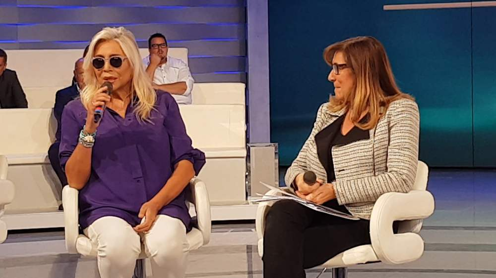 Domenica In 2019-20 - Mara Venier e Teresa De Santis in conferenza stampa
