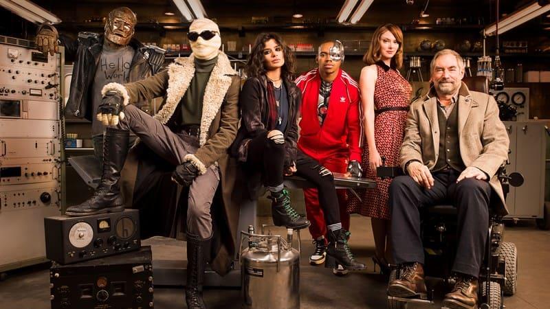 Doom Patrol - cast serie DC