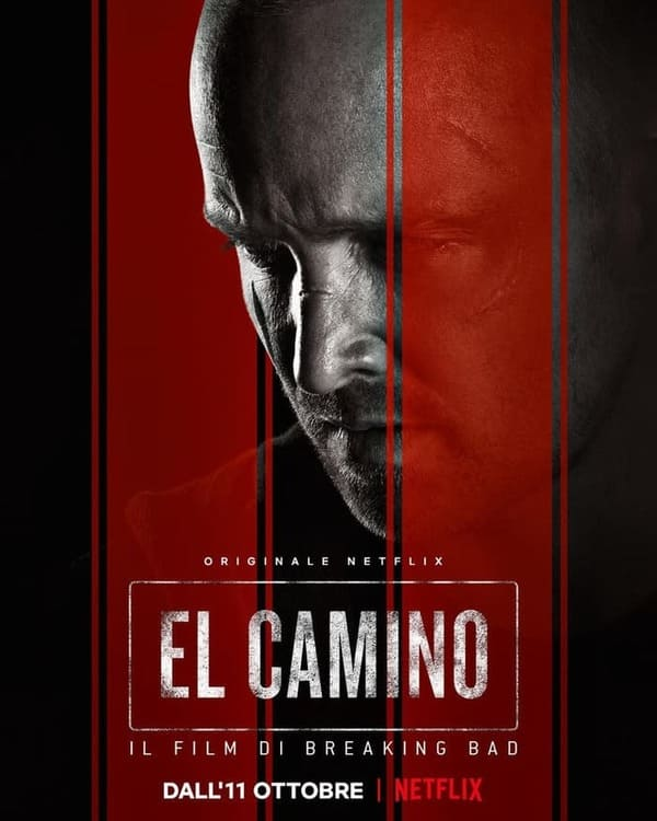 El Camino il film di Breaking Bad - locandina Netflix