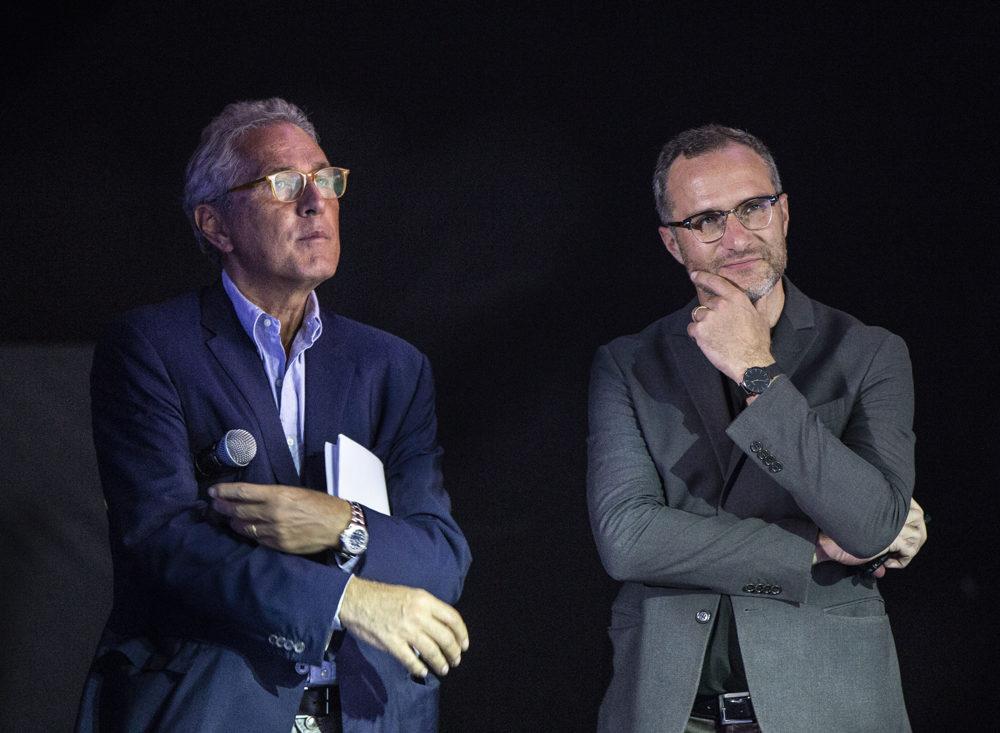 Francesco Rutelli - e il Direttore Artistico di Videocittà 2019 Francesco Dobrovich