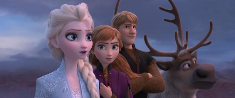 Frozen 2 - una scena del film