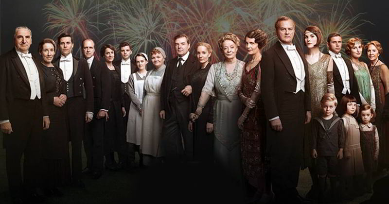 Il cast completo di Downton Abbey