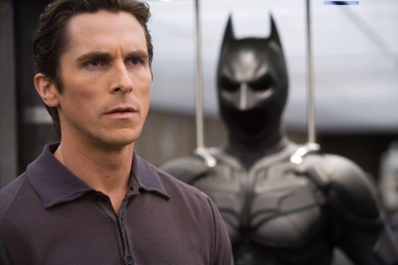 Il cavaliere oscuro su Infinity - Christian Bale