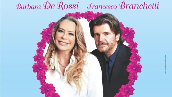 Il diario di Adamo ed Eva - Barbara De Rossi e Francesco Branchetti, manifesto Teatro degli Audaci