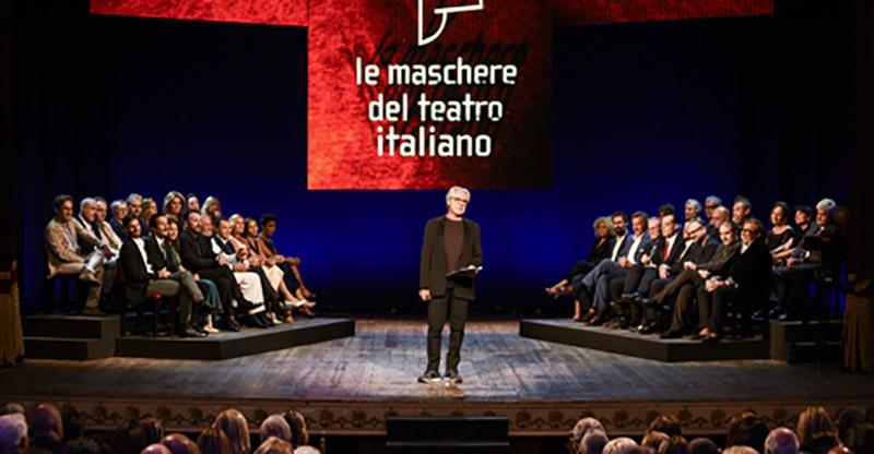 Le Maschere del Teatro Italiano 2019: la cerimonia di premiazione condotta da Tullio Solenghi