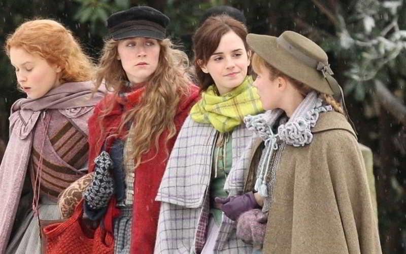 Le quattro protagoniste di Piccole Donne