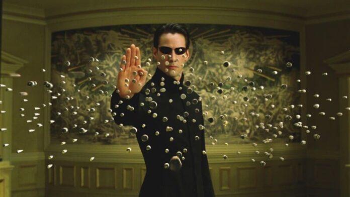 Matrix su Infinity - Keanu Reeves
