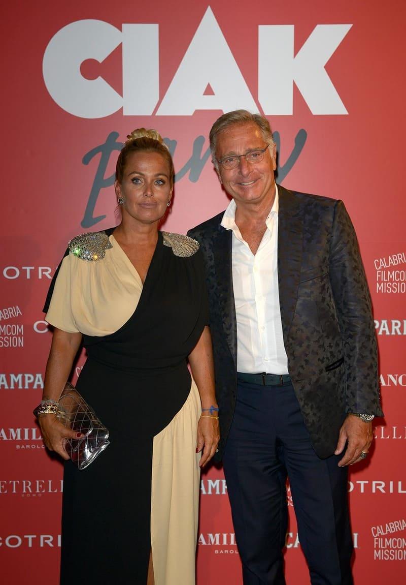 Party Ciak - Paolo Bonolis e Sonia Bruganelli