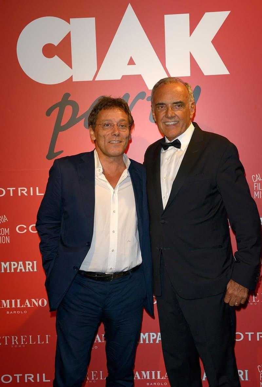 Party di Ciak - Flavio Natalia e Alberto Barbera