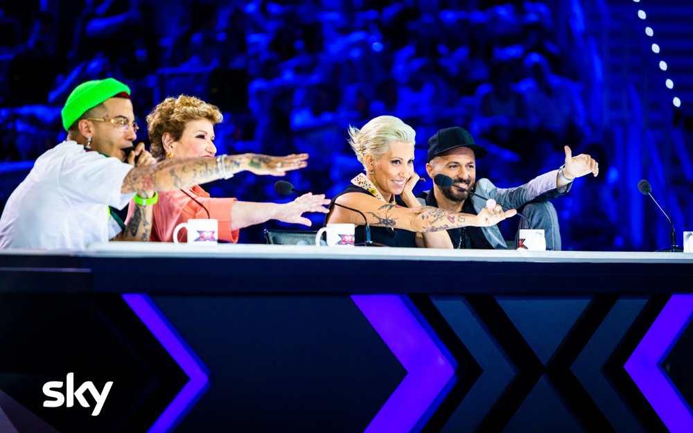 Prima puntata di X Factor 13 Ph.Virginia Bettoja