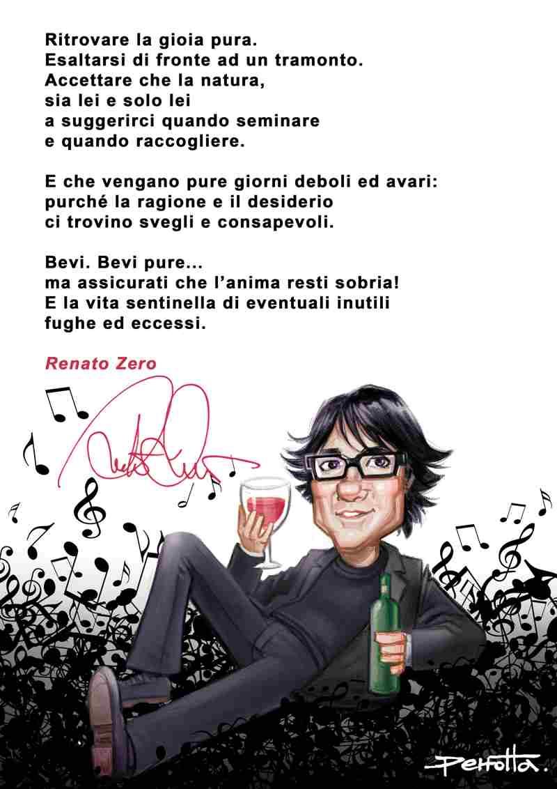 Renato Zero - manifesto Testadialkol