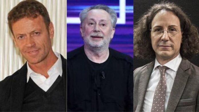 Rocco Siffredi, Lele Mora e Adriano Panzironi