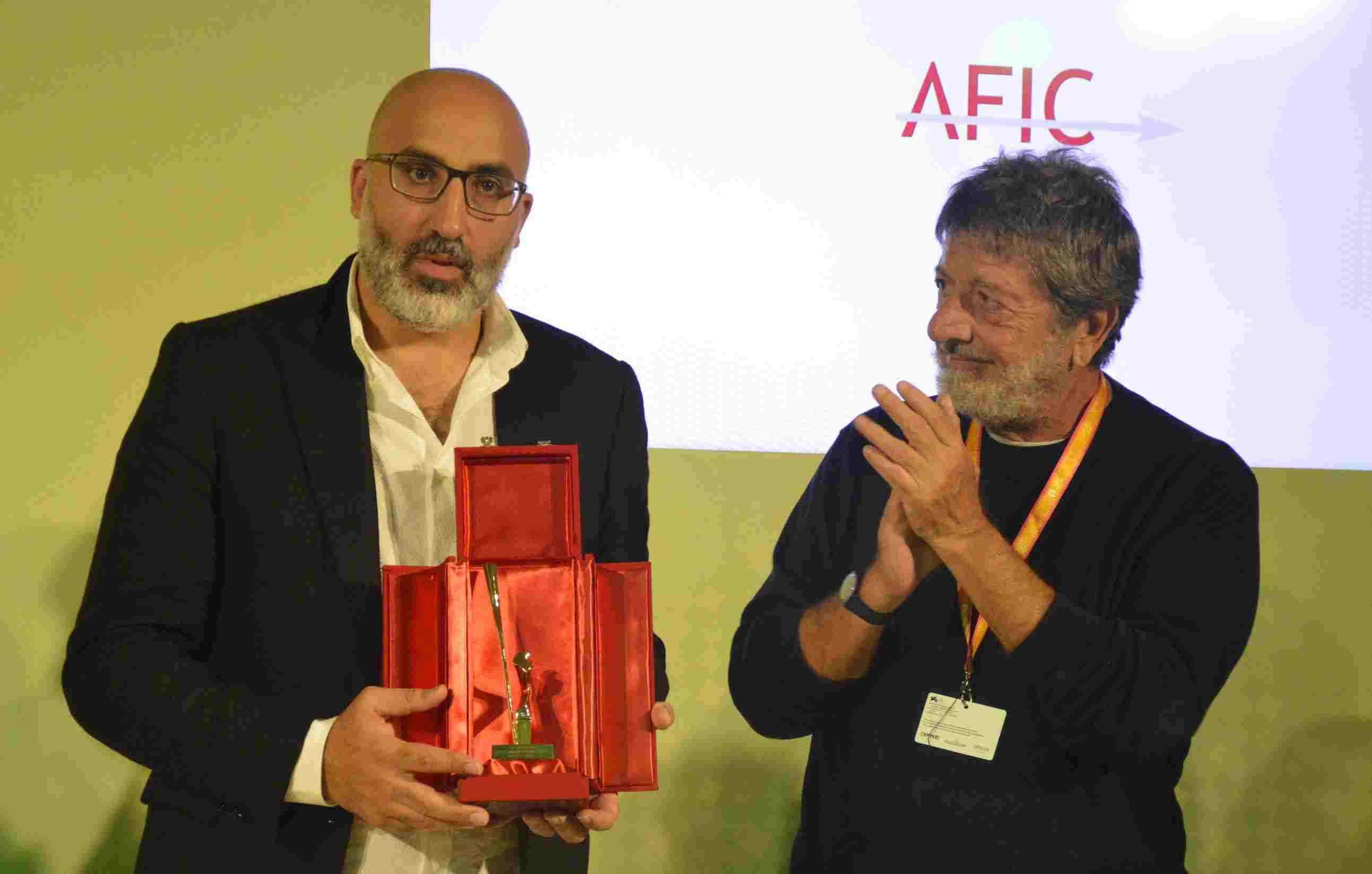 SIC.34_Ahmad Ghossein(director All this victory),Andrea Purgatori(Pres Cons Sorveglianza SIAE)