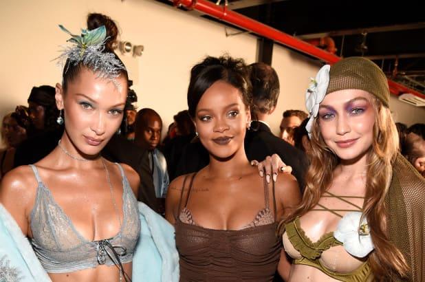 Savage X Fenty - Gigi Hadid, Rihanna, Bella Hadid